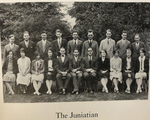 The Juniatian Staff Photo
