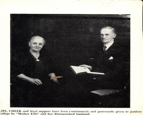 Dr C.C. Ellis and Wife, Cloyd Omo Collection