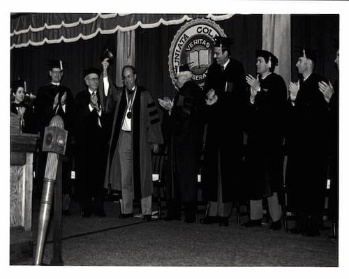 Inauguration of Robert Neff 1987