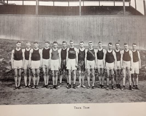 JC Men's Track and Field 1915